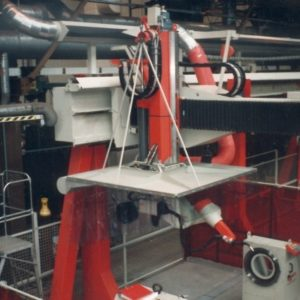 Aspiration aire robotique, casquette laminaire