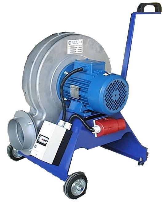 ventilateur aspiration fumées, gaz, ventilateur mouse roulettes
